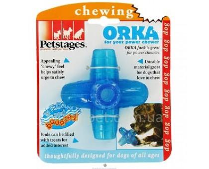 Petstages Игрушка для собак Orka Джек маленькая