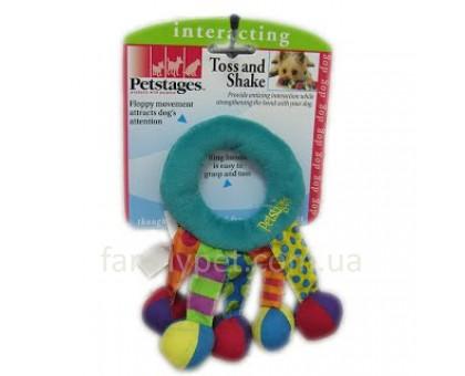 Petstages Игрушка для собак Кольцо-погремушка