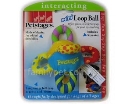 Petstages Игрушка для собак Мяч с петлями ними