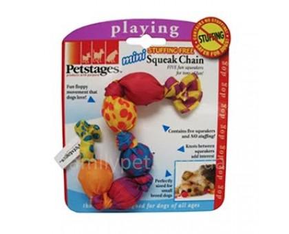 Petstages Игрушка для собак Цепь-пищалка мини