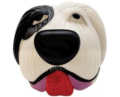 Petstages Игрушка для собак винил Бело-черная собака