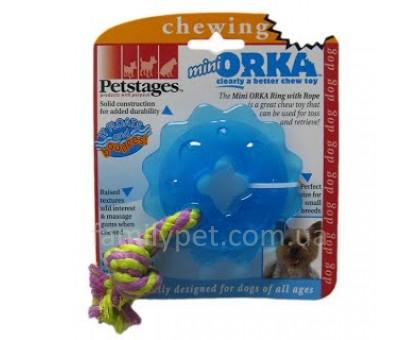 Petstages Игрушка для собак Orka звездочка с канатом
