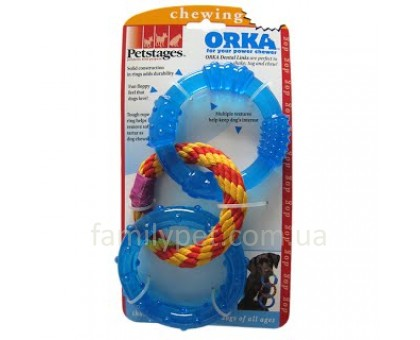Petstages Игрушка для собак Orka Кольца для зубов