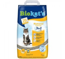 Biokats NATURAL Наполнитель для кошачьих туалетов  5 кг