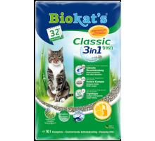 Biokats FRESH Наполнитель для кошачьего таулета 3 в 1