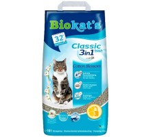 Biokats FIOR di COTTON 3in1 Наполнитель для кошачьего туалета 5 кг