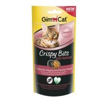GimCat Crispy Bits Мясные шарики для выведения шерсти для кошек 40 гр