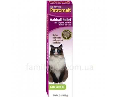 Sentry Petromalt Hairball Relief Паста для кошек со вкусом солода