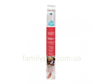 SENTRY Petrodex 360 dual-ended Зубная щетка для собак малых пород
