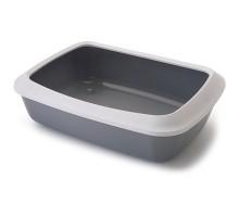 Savic Iriz Cat Litter Tray САВИК АЙРИЗ лоток туалет с бортиком для котов
