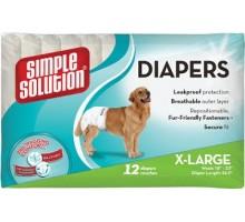 Simple Solution Disposable Diapers X- Large Гигиенические подгузники для собак размер XL