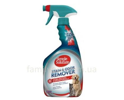 Simple Solution Stain and odor remover Универсальное средство для нейтрализации запахов и пятен с про-бактериями 945 мл
