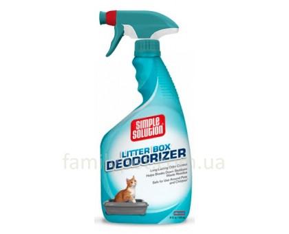 Simple Solution Cat Litter box deodorizer Средство для чистки кошачьих туалетов