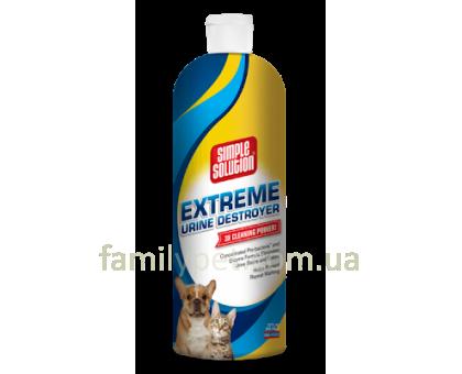 Simple Solution EXTREME URINE DESTROYER Сильное средство для устранения запахов и пятен 945 мл