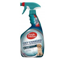 Simple Solution Oxy charged Stain and odor remover - Средство для нейтрализации запахов и удаления стойких пятен 945 мл