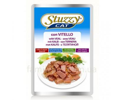 Stuzzy Cat Veal Консерва для кошек с телятиной в соусе 100 г