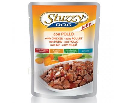 Stuzzy Dog Chicken Jelly Консерва для собак курица в желе пауч 100 г.