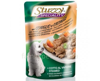 Stuzzy Speciality Dog Rabbit Vegetables Консерва для собак кролик с овощами в соусе 100 г