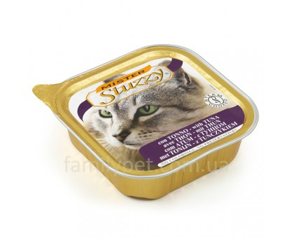 Mister Stuzzy Cat Tuna Консервы для котов паштет с тунцом 100 г