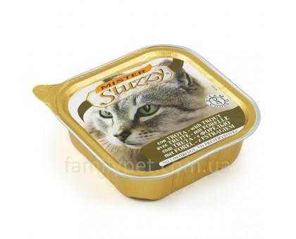 Mister Stuzzy Cat Trout Консерва для котов паштет с форелью 100 г