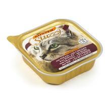 Mister Stuzzy Cat Sterilized Консерва для стерилизованных кошек и кастрированных котов 100 г