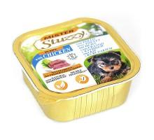 Mister Stuzzy Dog Puppy Консерва для щенков мясной паштет 150 г