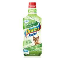 SynergyLabs Dental Fresh Cat  Жидкость от зубного налета и запаха из пасти кошек 237 г