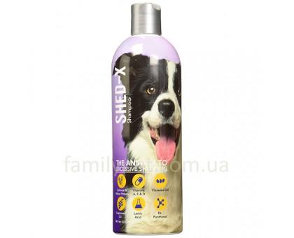 SynergyLabs Shed Control Шампунь против линьки для собак 473 мл