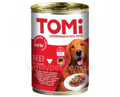 TOMi Beef Консерва для собак с говядиной