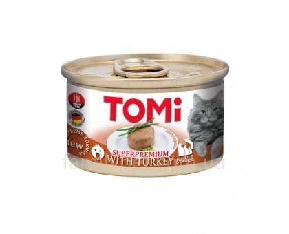 TOMi Turkey Консерва для котов мусс с индейкой 85 г