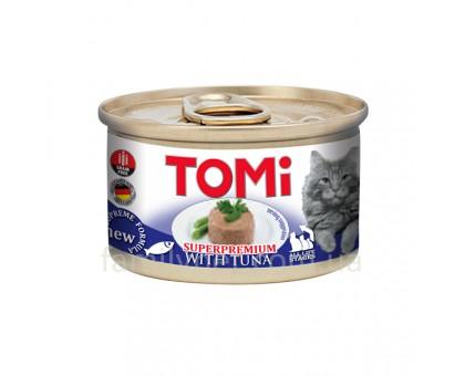 TOMi Tuna Консервы для котов мусс тунец 85 г