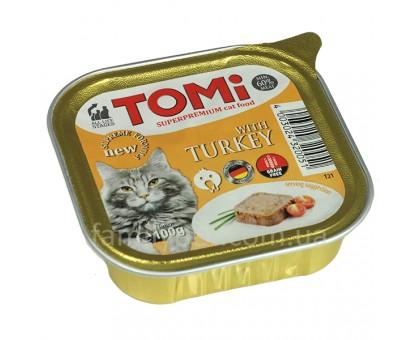 TOMi turkey Консерва для кошек с индейкой 100 г