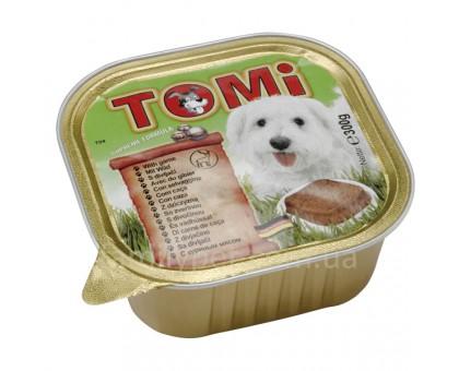TOMi goose liver Консерва для кошек с дичью пауч 100 г