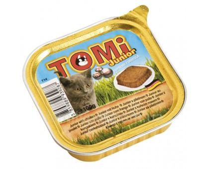 TOMi junior Консерва для котят паштет с курицей 0,1 кг