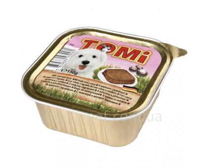 TOMi veal lamb Консерва для собак паштет с ягненком 300 г