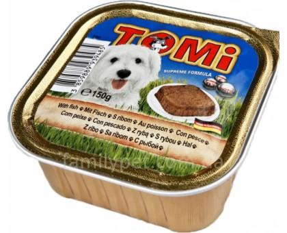 TOMi fish РЫБА Консерва для собак с рыбой