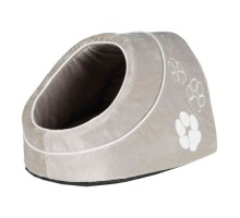Trixie Домик Nica меховой  серый 41*35*26 см
