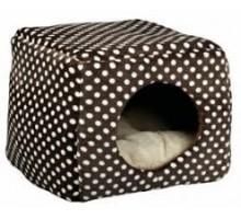 Trixie Домик-трансформер Mina 40*32*40 см коричнево/бежевый