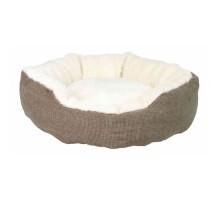 Trixie Yuma Лежак для собак и кошек с мехом 45 см