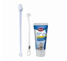 Trixie Набор для котов зубная паста и щетка