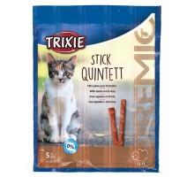 PREMIO Quadro-Sticks Палочки для кошек с ягненком и индейкой 5 шт