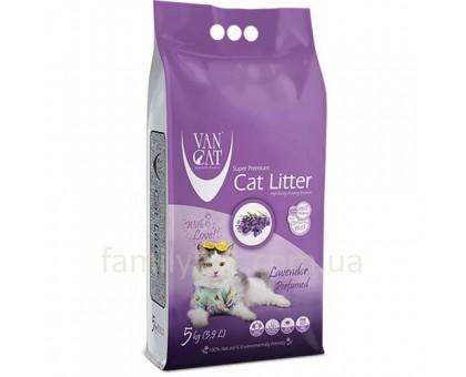 VanCat Lavender Бентонитовый наполнитель с ароматом лаванды