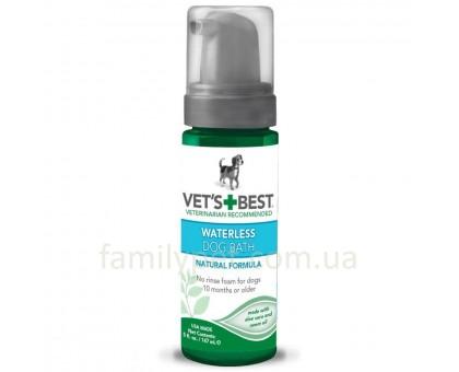 VET`S BEST Waterless Dog Bath Шампунь-пена для собак 147 мл