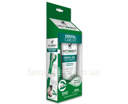 VET`S BEST Dental Care Kit Набор для чистки зубов 103 мл