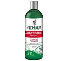 VET`S BEST Allergy Itch Relief Shampoo Шампунь для собак с чувствительной кожей 470 мл