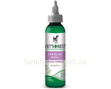 VET`S BEST Ear Relief Wash Жидкий очиститель для ушей 118 мл
