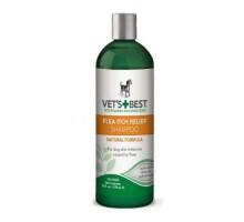 VET`S BEST Flea Itch Relief Shampoo Успокаивающий шампунь для собак от укусов блох  470 мл
