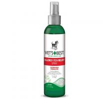 VET`S BEST Allergy Itch Relief Spray Спрей для собак с чувствительной кожей  236 мл