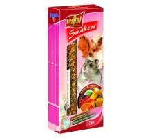 VITAPOL Колба для грызунов с фруктами 2 шт/уп