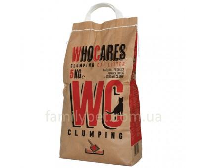 WhoCares Clumping Комкующийся наполнитель для кошачьего туалета